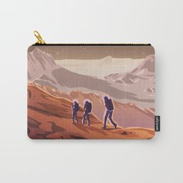 Hiking on Mars Carry-All Pouch