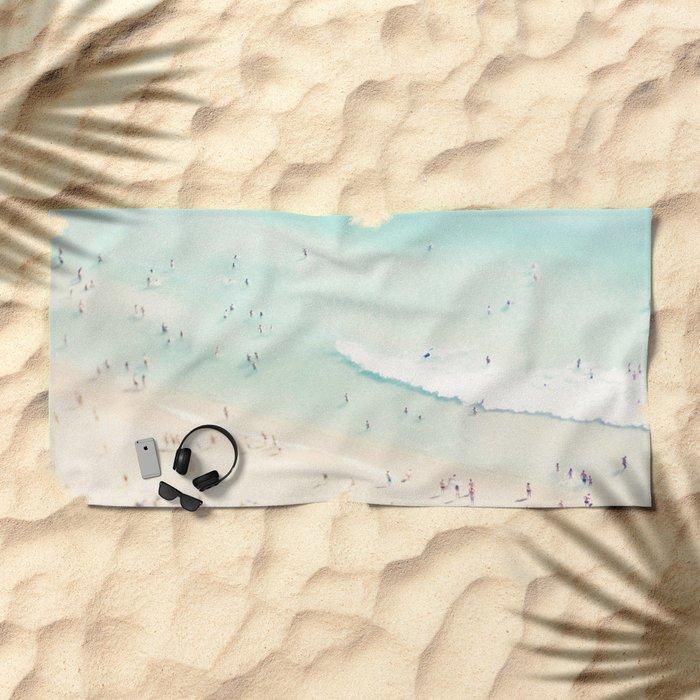 beach summer fun Beach Towel