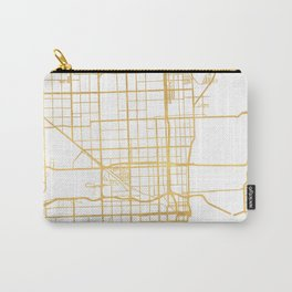 MIAMI FLORIDA CITY STREET MAP ART Carry-All Pouch