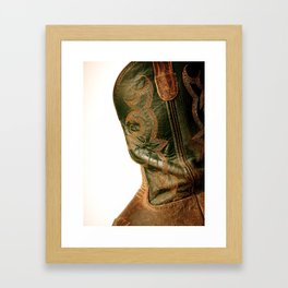 Country Boy Framed Art Print
