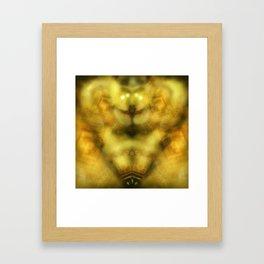Celestial Clockwork Ovipositor Framed Art Print