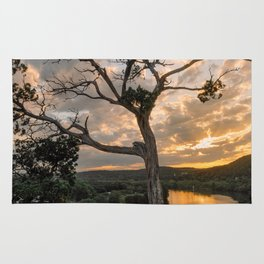 Sunset at 360 Bridge Overlook Rug