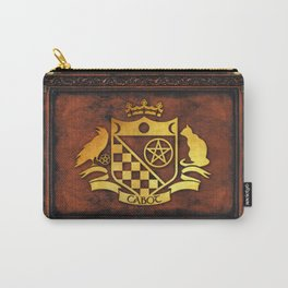 Cabot Gold Embossed Collection Carry-All Pouch