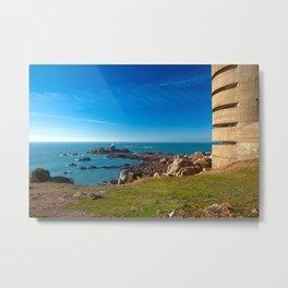 Jersey Coastal Scenery Metal Print