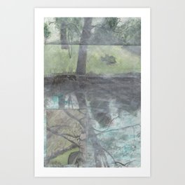 Back in Summer Art Print