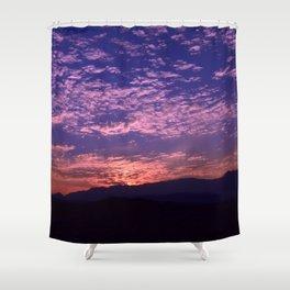 SW Mountain Sunrise - II Shower Curtain