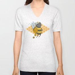 Bee Thief Unisex V-Neck