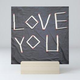 Love you Mini Art Print