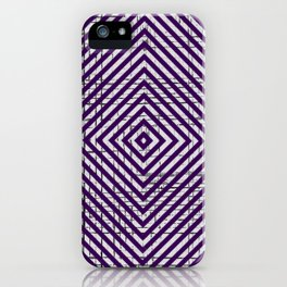 The System - Purple iPhone Case