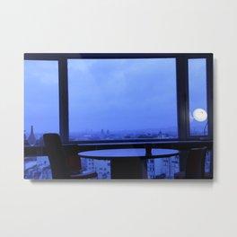 Cloudy Sunday in Paris Metal Print