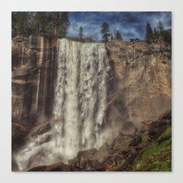 Vernal Falls deluge Canvas Print
