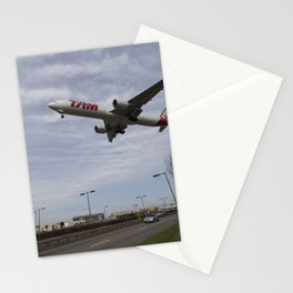 Tam Boeing 777 Heathrow Airport Stationery Cards