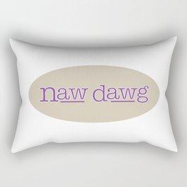 Naw Dawg Rectangular Pillow