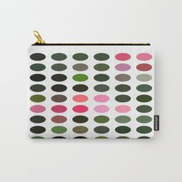 Pink Roses in Anzures 5  Dots Carry-All Pouch
