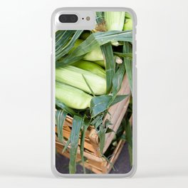Sweetest Corn Clear iPhone Case