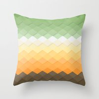 zen Throw Pillows featuring Zen by Kakel