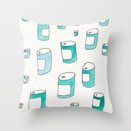 BEERS! Throw Pillow