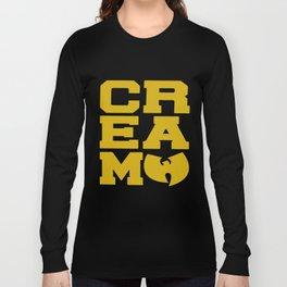 Rza Gza Odb Method Rap Tee Cream Cash Rules Mens Hip Hop Long Sleeve T-shirt