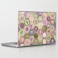 polygon Laptop & iPad Skins featuring Polygon pattern by /CAM