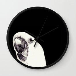 Hello Cocky Wall Clock