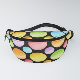 Candy Rainbow Polka Dots Fanny Pack