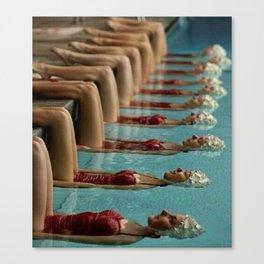 Synchronize Canvas Print