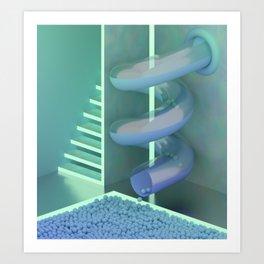 Interior #3 / Indoor Slide Art Print