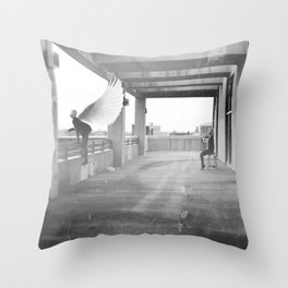Icarus Complex Throw Pillow