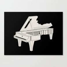 Music Is The Key. Canvas Print
