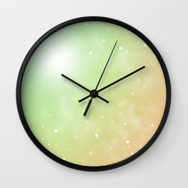 pretty colours ooo 2 Wall Clock