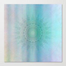 Mandala sensual light Canvas Print