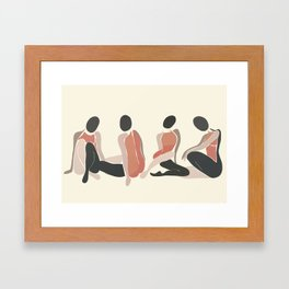 Woman Forms Framed Art Print