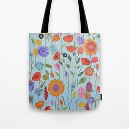 """Garden Whimsy"" Tote Bag"