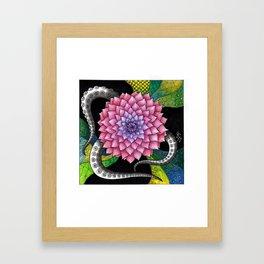 Dahliatopus Framed Art Print