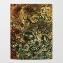 Jupiter's Clouds 2 Poster