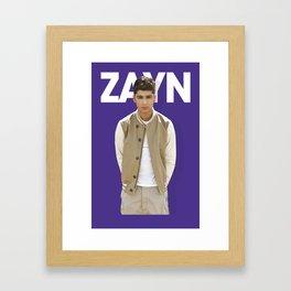One Direction - Zayn Malik Framed Art Print