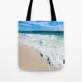 Tulum Waves Tote Bag