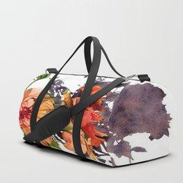 Melancholy Hibiscus Duffle Bag