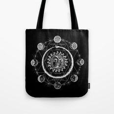 Boho Moon Tote Bag
