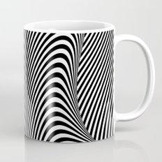 Black and White Pop Art optical illusion Mug