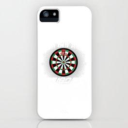 180 Darts Gift Dartsplayer Arrow Lover iPhone Case