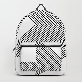 Cross Lines Backpack