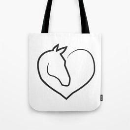 horse horse horse love animal love gift rider equestrian sport Tote Bag