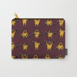 Clean and Jerks Pug Carry-All Pouch