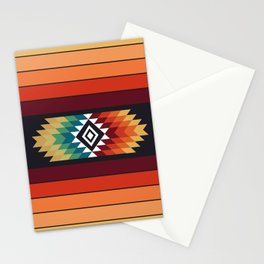 American Native Pattern No. 138 Stationery Cards