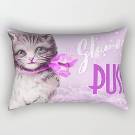 Glamour Puss Rectangular Pillow