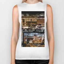 Vintage Auto Biker Tank
