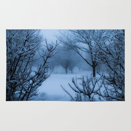 Foggy Winter Solstice Rug