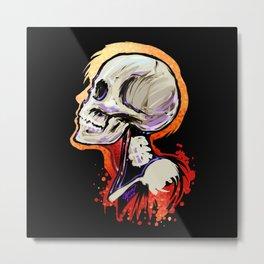 Bonehead 2 Metal Print