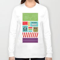 stickers Long Sleeve T-shirts featuring TOY STORY : BUZZ LIGHTYEAR STICKERS KIT by DrakenStuff+